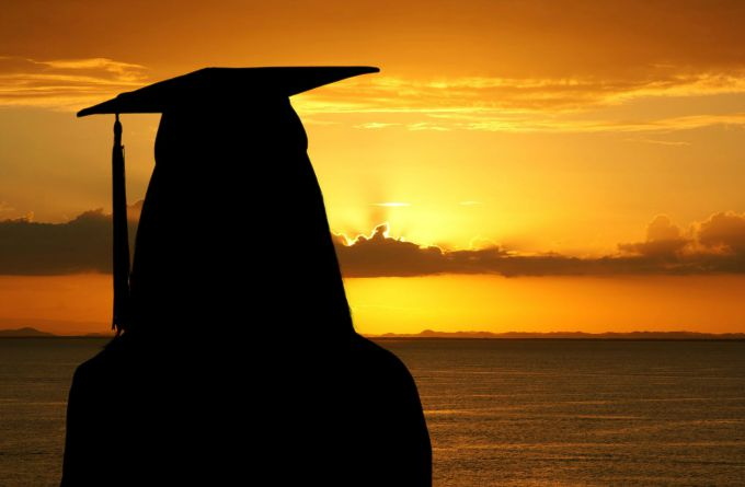 graduate and sunset blog pic